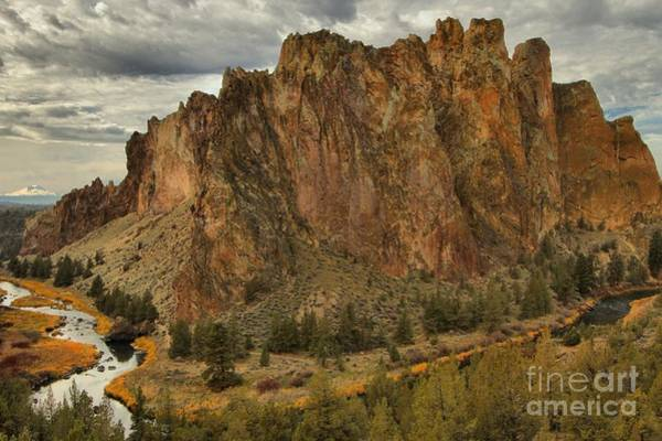 Photograph - Towering Peaks At Smith Rock by Adam Jewell