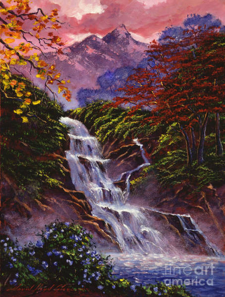 Painting - Towers Of Mist by David Lloyd Glover