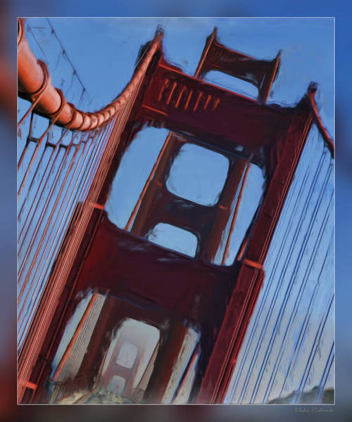 Photograph - Towers Of The Golden Gate by Blake Richards