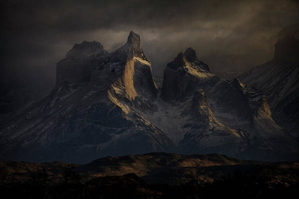 Dark Shadows Photograph - Towers by Peter Svoboda, Mqep