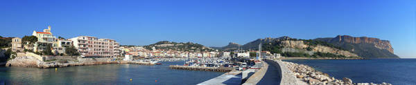 Rhone River Photograph - Town And Port, Cassis, Cape Scoundrel by Panoramic Images