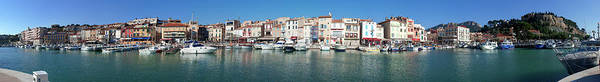 Rhone River Photograph - Town And Port, Cassis by Panoramic Images