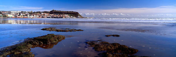 Scarborough Photograph - Town At The Waterfront, Scarborough by Panoramic Images