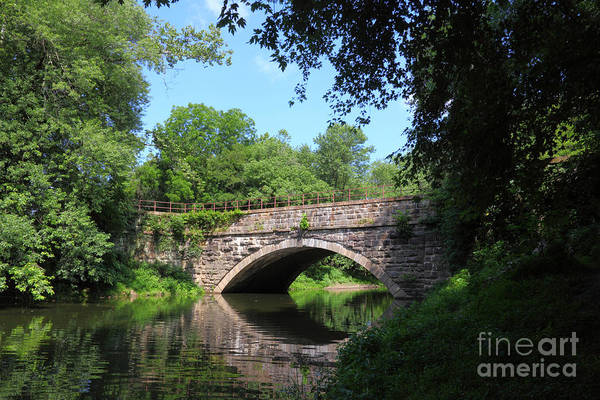 Photograph - Town Creek Aqueduct Maryland by James Brunker
