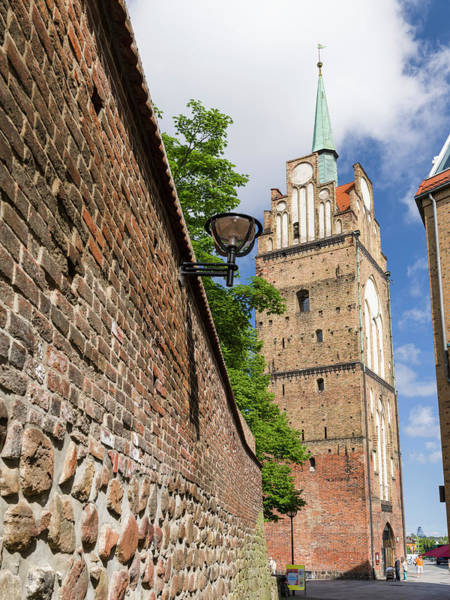 Brick Gothic Photograph - Town Gate Kroepeliner Tor by Martin Zwick