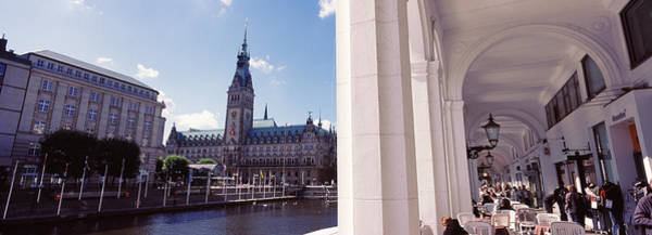 Rathaus Photograph - Town Hall At The Waterfront by Panoramic Images