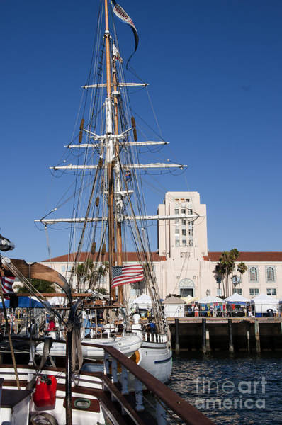 Photograph - Town Hall Of San Diego by Brenda Kean