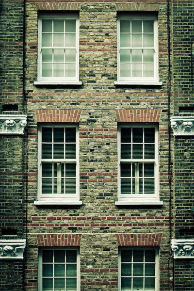 Window Photograph - Town House by Tom Gowanlock
