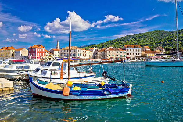 Starigrad Photograph - Town Of Starigrad On Hvar Island by Brch Photography