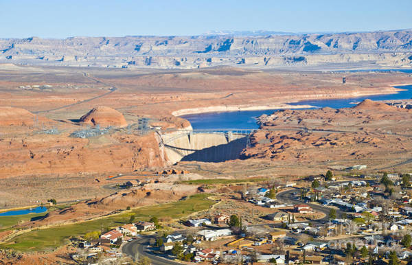 Photograph - Town On Lake Powell Page by Kate Sumners