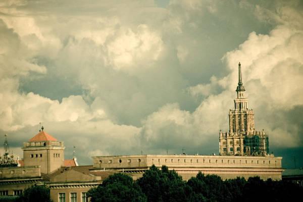 Photograph - town Riga  by Raimond Klavins