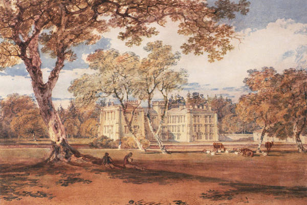 Autumn Drawing - Towneley Hall, C.1798 by Joseph Mallord William Turner