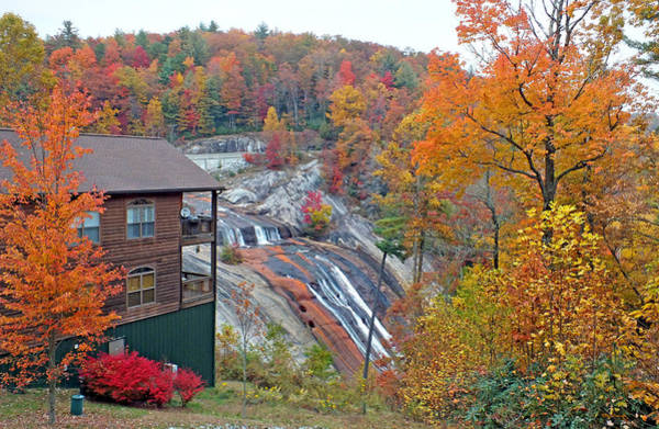 Photograph - Toxaway Falls In The Fall 2 by Duane McCullough