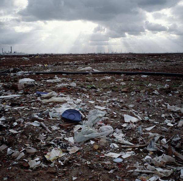 Toxic Waste Dump Art Print