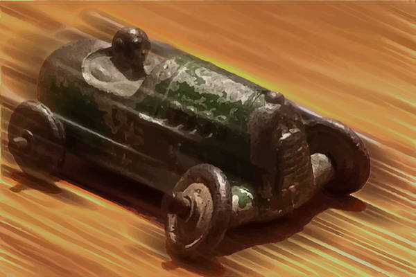 Photograph - Toy Car by Wes Jimerson