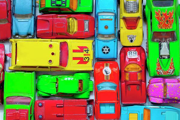 Photograph - Toy Cars by Muriel De Seze