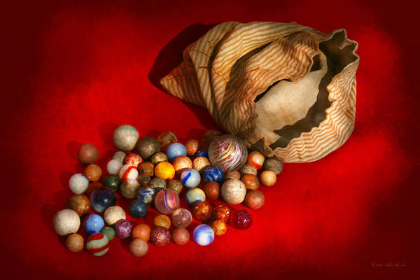 Wall Art - Photograph - Toy - Found My Marbles by Mike Savad