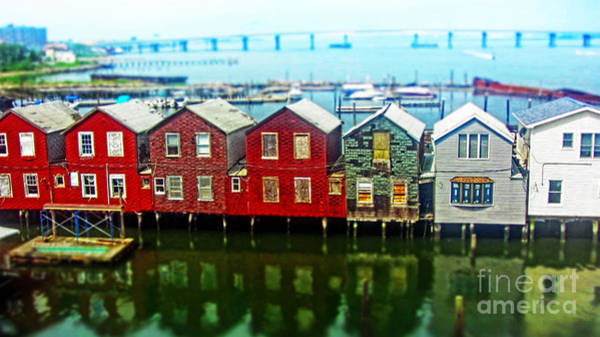 Rockaway Photograph - Toy Houses by Nishanth Gopinathan