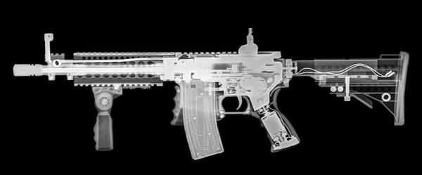 Assault Rifle Wall Art - Photograph - Toy Imitation M-16 Assault Rifle by Photostock-israel/science Photo Library