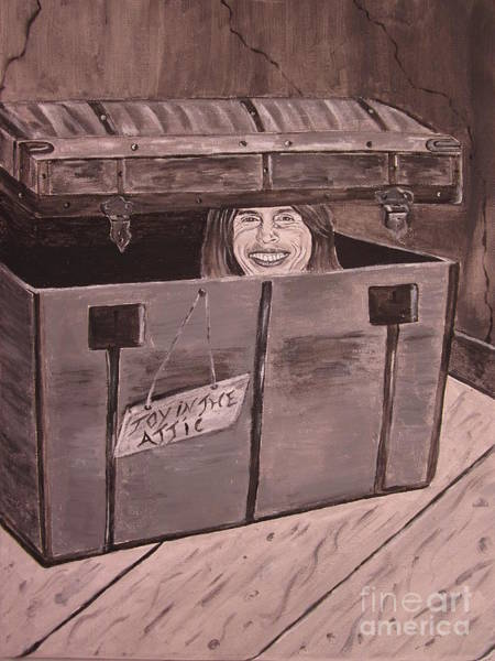 Steven Tyler Painting - Toy In The Attic by Jeepee Aero