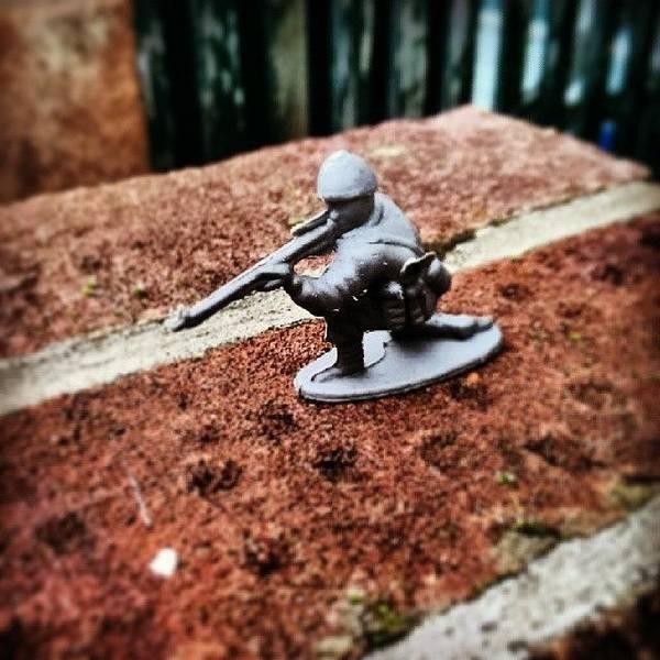 Rifles Photograph - #toy #soldier #toysoldier #miniature by Abdurrahman Ozlem