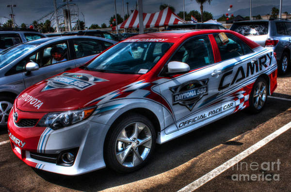 Southern Ontario Photograph - Toyota Camry Daytona 500 by Tommy Anderson
