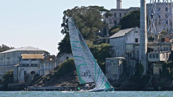Photograph - Tp52 At Alcatraz by Steven Lapkin