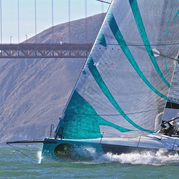 Photograph - Tp52 On San Francisco Bay by Steven Lapkin