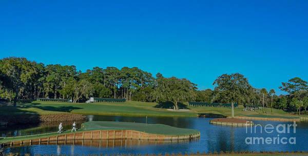 Photograph - Tpc Sawgrass Island Green by Randy J Heath