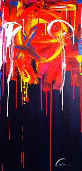 Interior Wall Art - Painting - Trace Memories by Mac Worthington