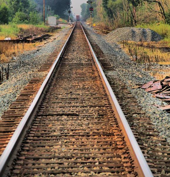 Photograph - Track by Dan Sproul