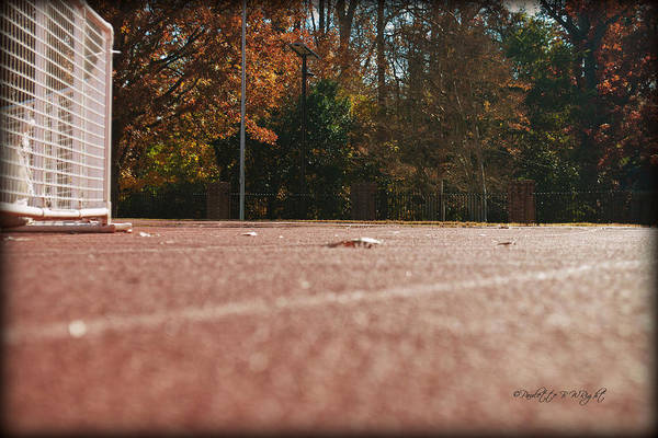 Photograph - Track - Davidson College by Paulette B Wright