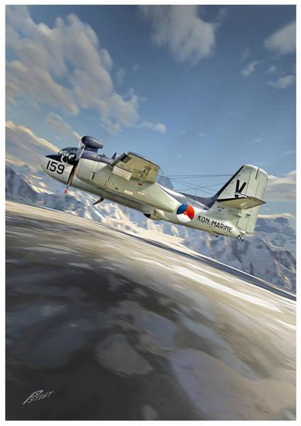 Cockpit Digital Art - Tracker by Peter Van Stigt