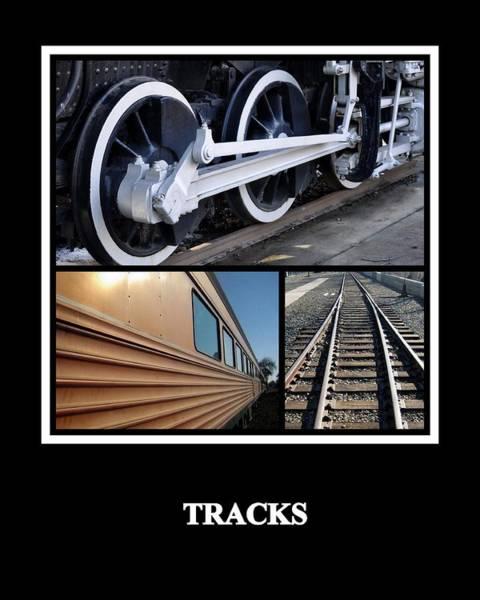 Photograph - Tracks by AJ  Schibig