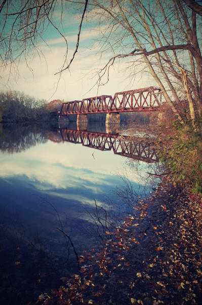 Photograph - Tracks And Reflections by Jeremy McKay