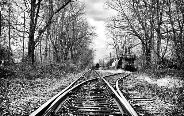 Photograph - Tracks Of History by John Rizzuto