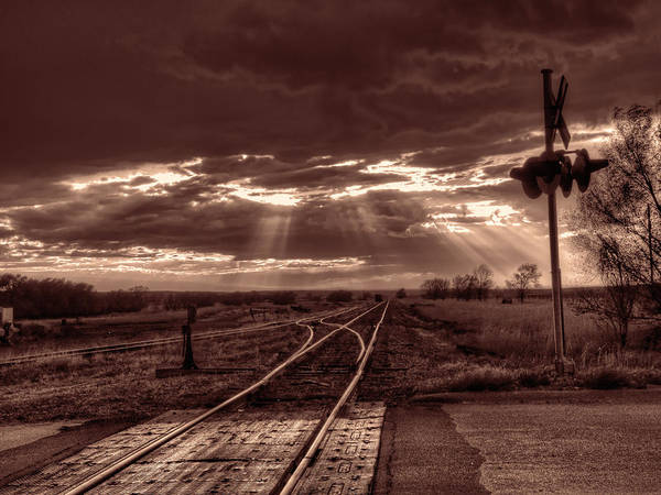 Photograph - Tracks To Glory by HW Kateley