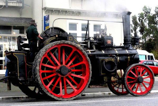 Joyce Woodhouse - Traction Engine