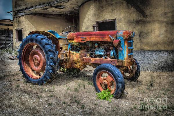 Digital Art - Tractor 2 by Mauro Celotti