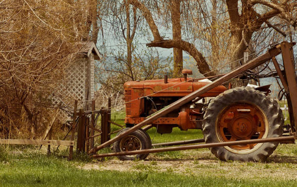 Tractor On Us 285 Art Print