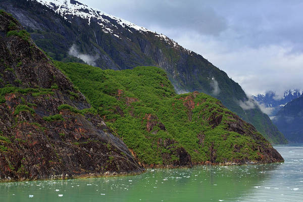 Juneau Photograph - Tracy Arm Fjord In Alaska by Richard Cummins