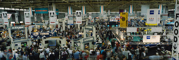 Mccormick Wall Art - Photograph - Trade Show In A Hall, Mccormick Place by Panoramic Images