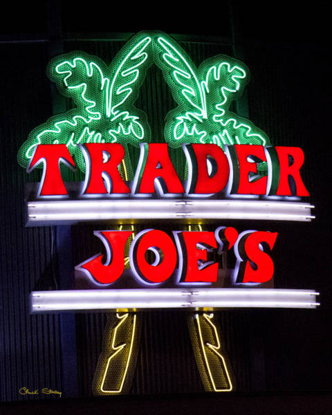 Photograph - Trader Joe Sign by Chuck Staley