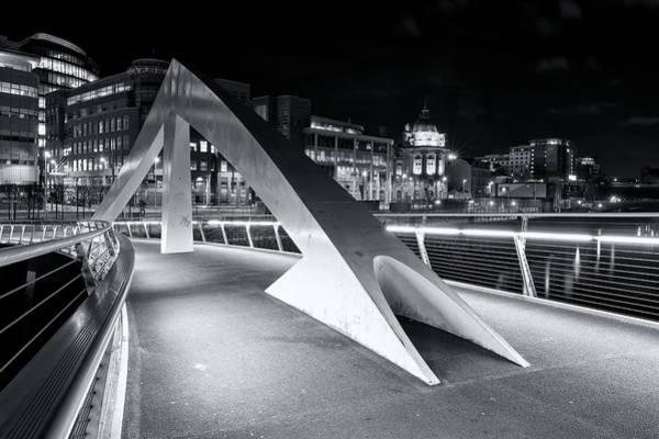 Photograph - Tradeston Footbridge by Stephen Taylor