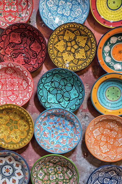 Photograph - Traditional Ceramic Moroccan by Guyberresfordphotography