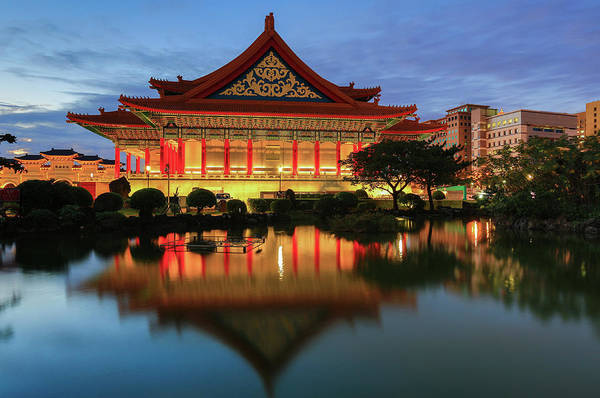 Concert Hall Photograph - Traditional Chinese Palace by Uschools