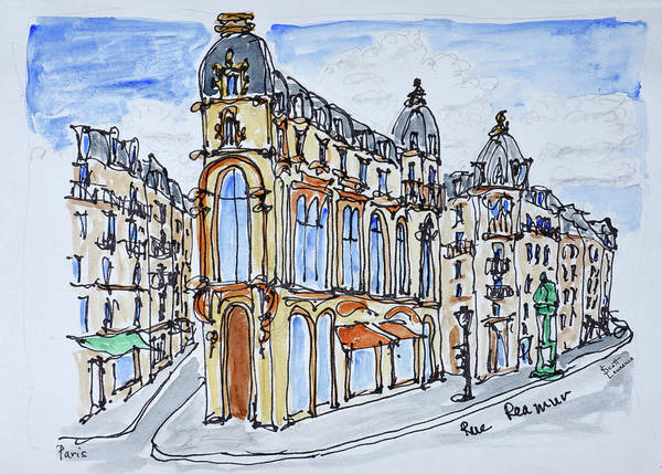 Wall Art - Photograph - Traditional Haussmann Style Buildings by Richard Lawrence