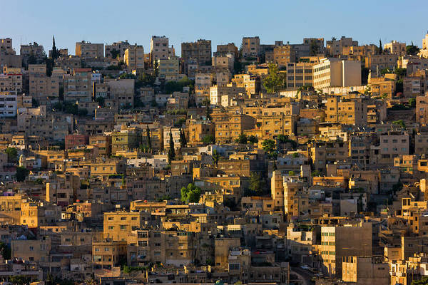 Wall Art - Photograph - Traditional Houses In Amman, Jordan by Keren Su