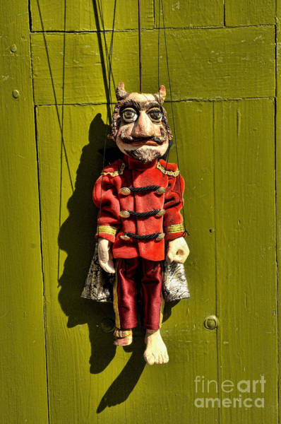 Photograph - Traditional Puppet In Prague by Brenda Kean