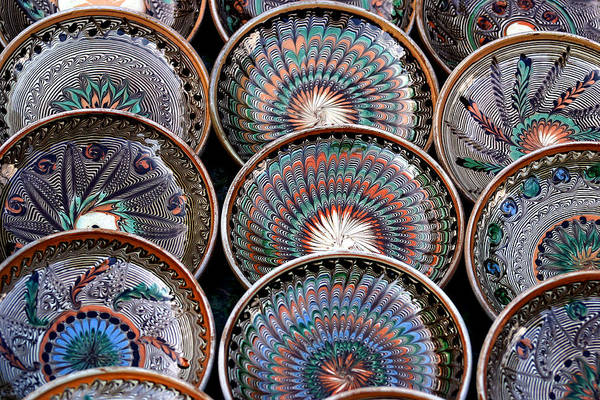 Photograph - Traditional Romanian Pottery by Emanuel Tanjala